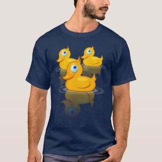 T-shirt Canards en caoutchouc