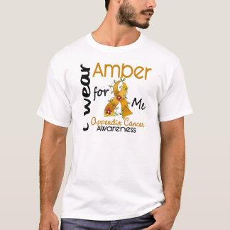 T-shirt Cancer d'annexe je porte l'ambre pour moi 43