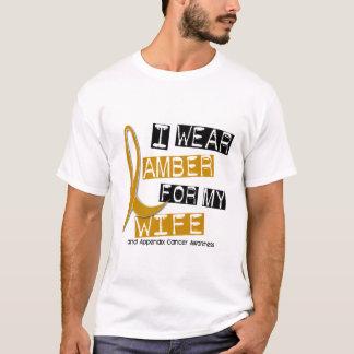 T-shirt CANCER d'ANNEXE je porte l'ambre pour mon épouse