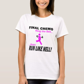 T-shirt Cancer du sein - le chimio final courent beaucoup