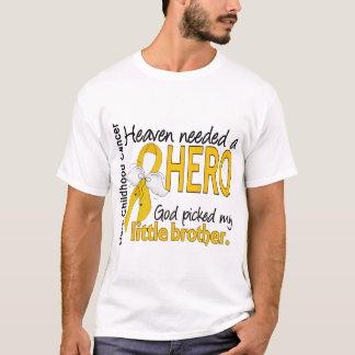 T-shirt Cancer nécessaire d'enfance de petit frère de