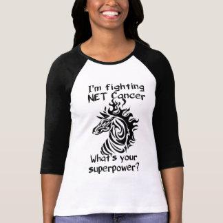 T-shirt Cancer NET de combat