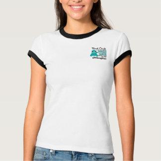 T-shirt Cancer ovarien de filleule folle du poussin 2