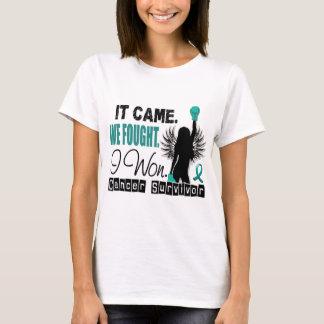 T-shirt Cancer ovarien du survivant 22