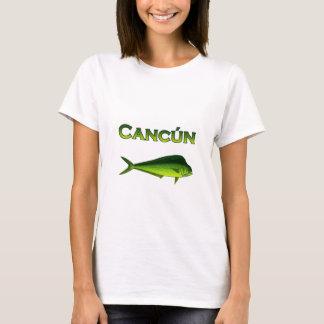 T-shirt Cancun Dorado