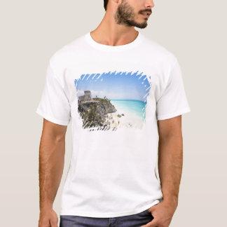 T-shirt Cancun, Quintana Roo, Mexique - ruines sur une