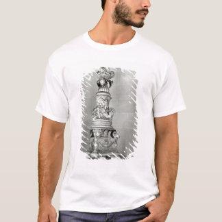 T-shirt Candélabres conçus par Piranesi sur la base