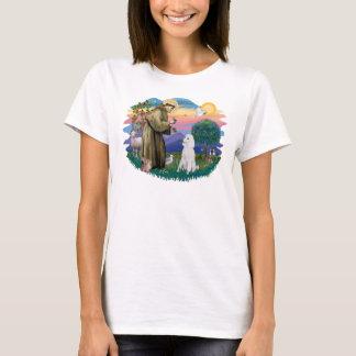 T-shirt Caniche (blanc standard)