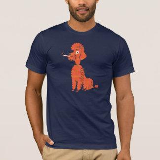 T-shirt Caniche de tabagisme