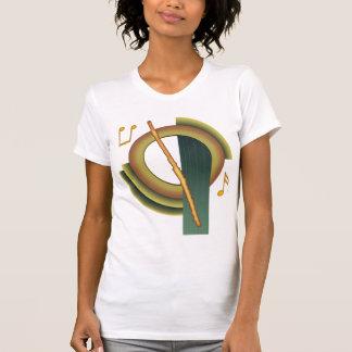 T-shirt Cannelure Deco