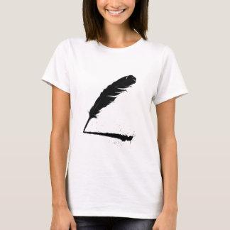 T-shirt Cannette avec l'encre