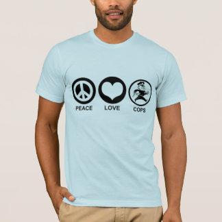 T-shirt Cannettes de fil d'amour de paix