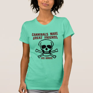 T-shirt Cannibales drôles