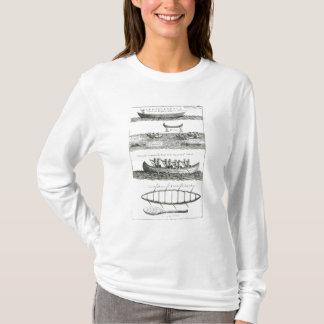 T-shirt Canoë de l'Iroquois