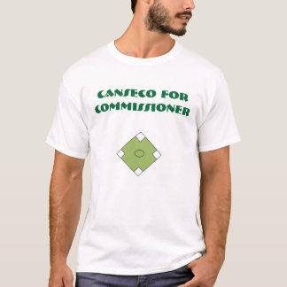 T-shirt Canseco pour le commissaire