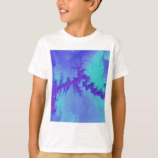 T-shirt Canyon grand de style lumineux de nébuleuse de