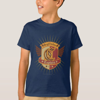 T-shirt Capitaine Emble de Harry Potter | Gryffindor