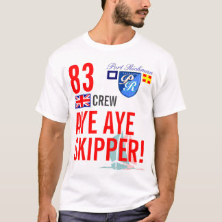 T-shirt Capitaine Grande-Bretagne BRITANNIQUE nautique de