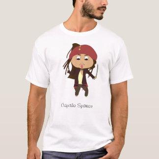T-shirt Capitaine Jack Sparrow