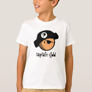 T-shirt Capitaine Kidd de pirate