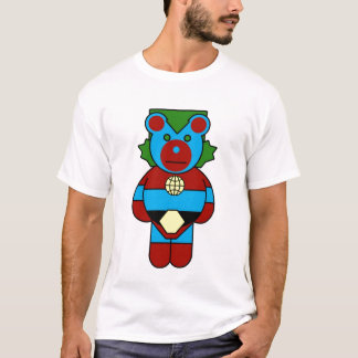 T-SHIRT CAPITAINE PLANET BEAR LONGSLEVE CREWS DE LA TW