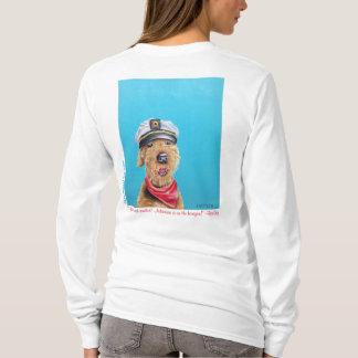 T-shirt Capitaine Shirt de marin d'Airedale