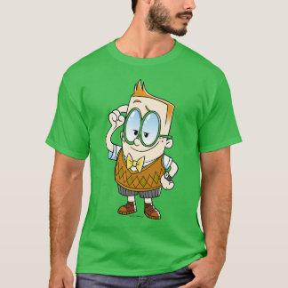 T-shirt Capitaine Underpants   Melvin le sait tout
