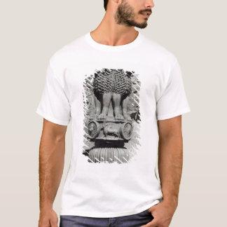 T-shirt Capital de lion du pilier de l'empereur Ashoka