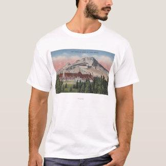 T-shirt Capot de bâti, Orégon - vue du nouveau Timberline