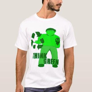 T-shirt CAPOT DE MUGGIN -- L'agresseur vert