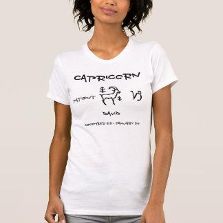 T-shirt Capricorne personnalisé