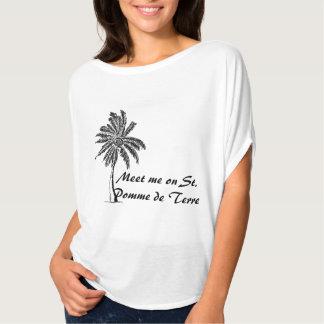 T-shirt Captain St Pomme de Terre Shirt de Ron Breezy
