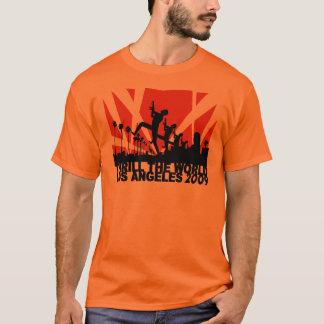 T-shirt Captivez l'orange 2009 de ~ de Los Angeles du