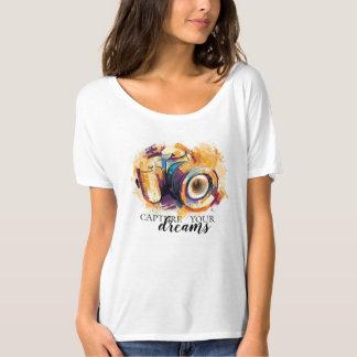 T-shirt Capturez vos rêves