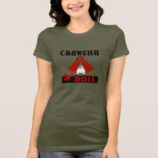 T-shirt Capuchon d'ébullition d'écrevisses
