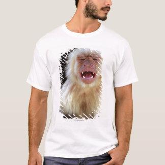 T-shirt capucin Blanc-throated (capucinus de Cebus) avec