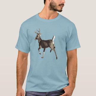 T-shirt caracolant de cerf de Virginie