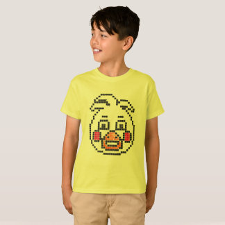 T-shirt caractère 8 bits (le canard de Freddy)