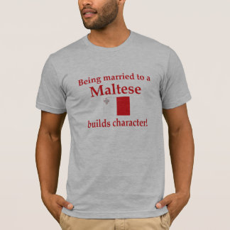T-shirt Caractère maltais de constructions