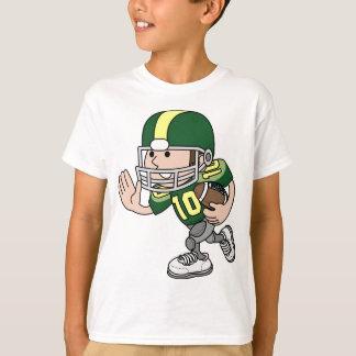 T-shirt Caractère mignon de joueur de football américain