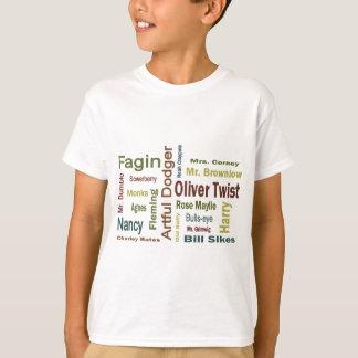 T-shirt Caractères d'Oliver Twist
