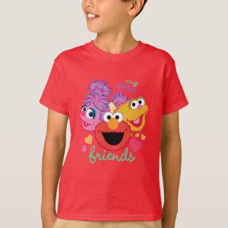 T-shirt Caractères doux de meilleurs amis