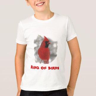 T-shirt Cardinal d'enfants - roi des oiseaux