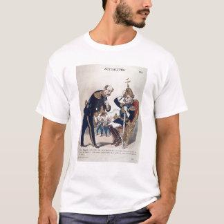 T-shirt caricature de Kaiser Wilhelm de la Prusse