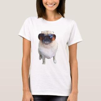 T-shirt Carlin avec des lunettes de soleil