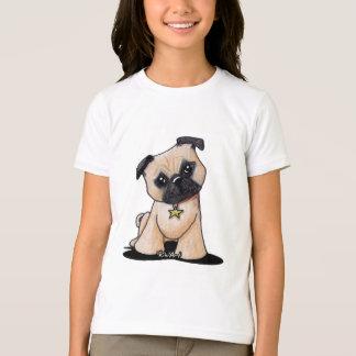 T-shirt Carlin de KiniArt