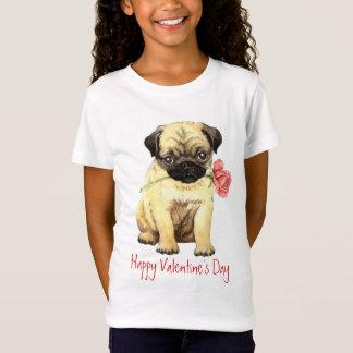 T-Shirt Carlin rose de Valentine