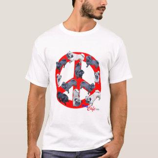 T-shirt Carlins pour le tee - shirt de paix