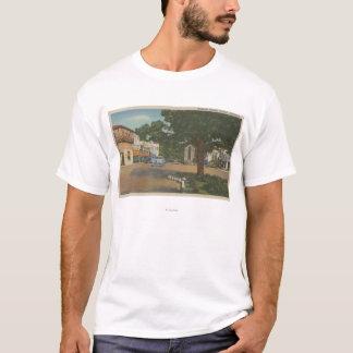 T-shirt Carmel, CA - vue de district des affaires du