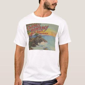 T-shirt Carmel, Monterey, et verger Pacifique, CA -